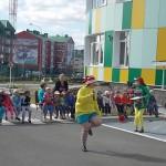 музыкальноe развлечение «Красный, желтый, зеленый»