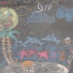 Конкурс рисунков на асфальте