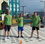 Педагоги детских садов организовывают спортивные игры для юных горожан микрорайона Иртыш 2